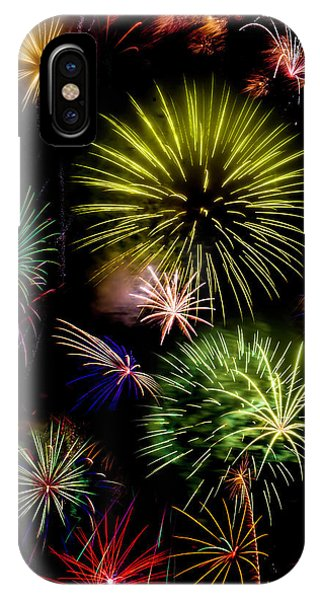 Colors Exploding Over Heard IPhone Case