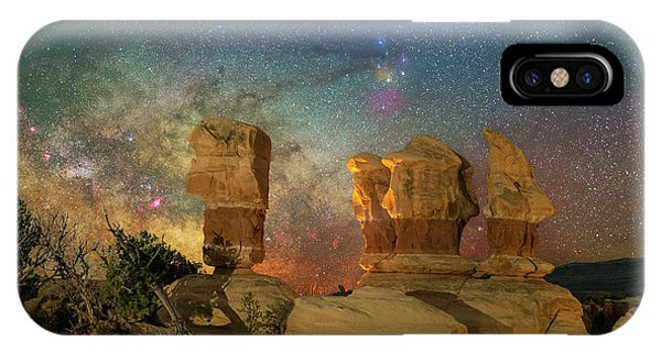 Colors Of Darkness IPhone Case