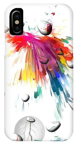 Colors Of Explosions By Nico Bielow IPhone Case