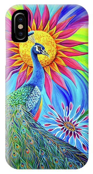 IPhone Case featuring the painting Colors Of His Splendor by Nancy Cupp