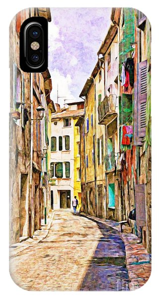 Colors Of Provence, France IPhone Case
