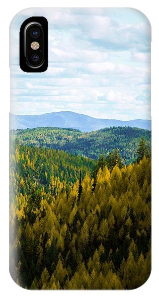 Colors Of Sherman's Pass IPhone Case