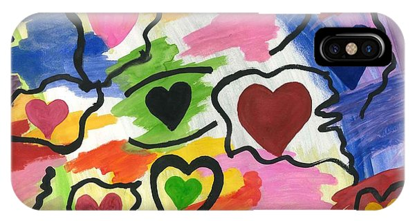 Colors Of The Heart IPhone Case