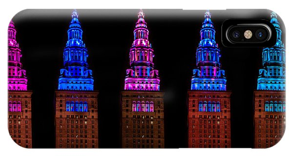 Colors Of The Terminal Tower IPhone Case