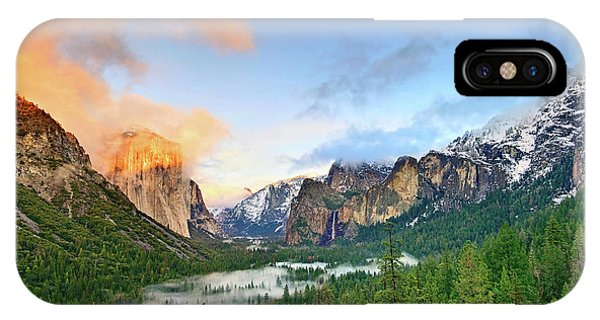 Colors Of Yosemite IPhone Case