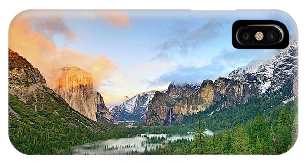 Mountain iPhone Case - Colors Of Yosemite by Jamie Pham