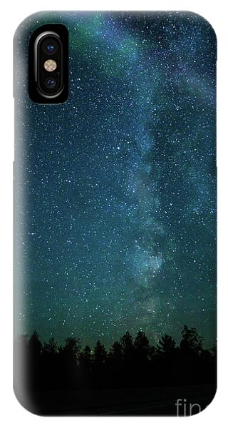 Colors Over The Milky Way IPhone Case
