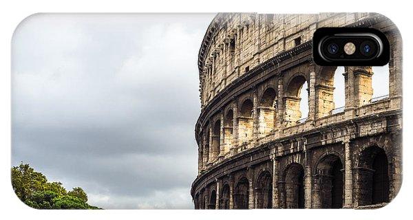Colosseum Closeup IPhone Case