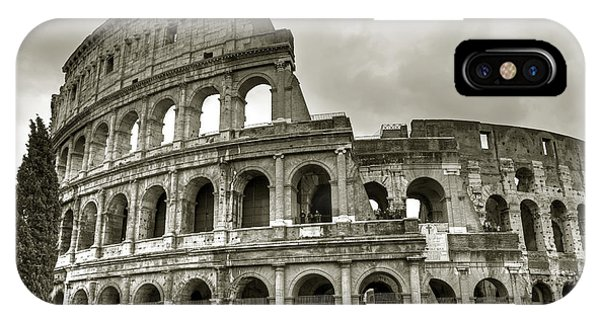 Italy iPhone Case - Colosseum  Rome by Joana Kruse