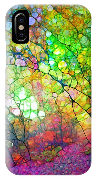 Colour Combustion IPhone Case