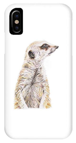 Colour Meerkat IPhone Case