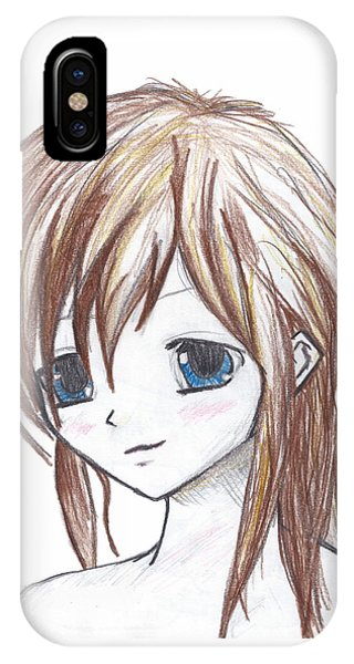 Coloured Anime IPhone Case