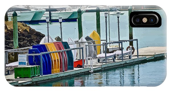 Colourful Dinghies Auckland IPhone Case