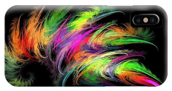 Colourful Feather IPhone Case