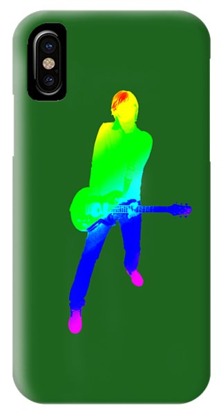 Good Humor iPhone Case - colourful guitar player. Music is my passion by Ilan Rosen