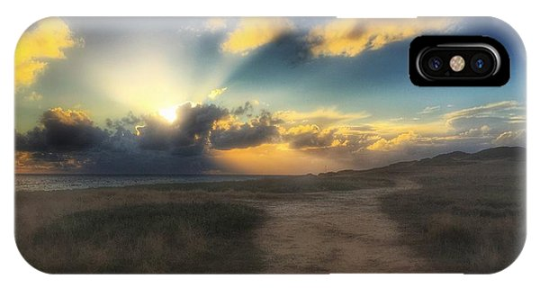IPhone Case featuring the photograph Colourful Sky by Dirk Jung