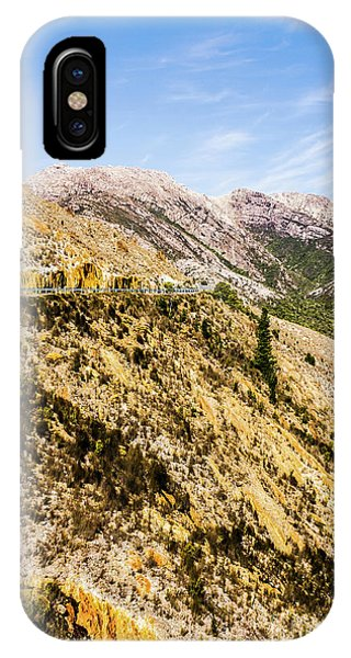 Rocky Mountain iPhone Case - Colourful Stony Highlands by Jorgo Photography - Wall Art Gallery