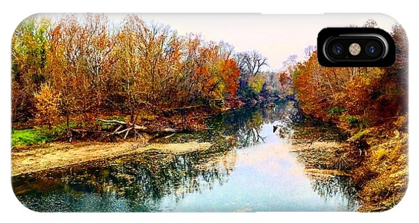 Colours Along Mill Creek IPhone Case