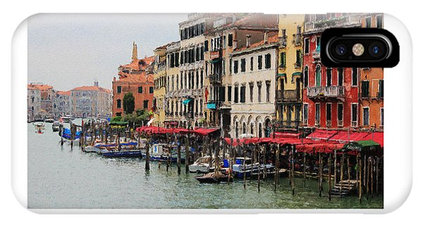 Colours Of The Grand Canal IPhone Case