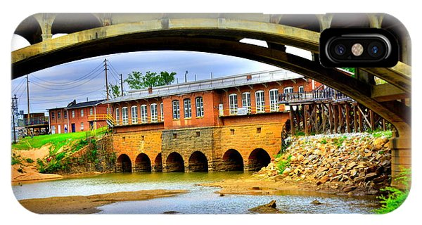 IPhone Case featuring the photograph Columbia Canal At Gervais Street Bridge by Lisa Wooten