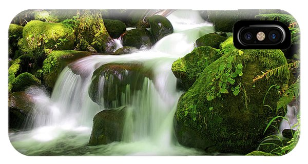 Columbia Gorge Stream IPhone Case