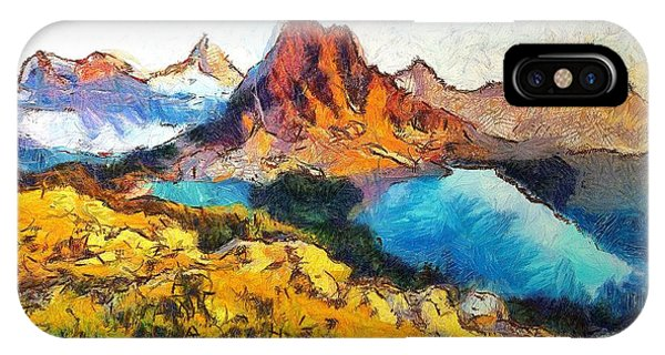 Columbia Lake Reverie IPhone Case