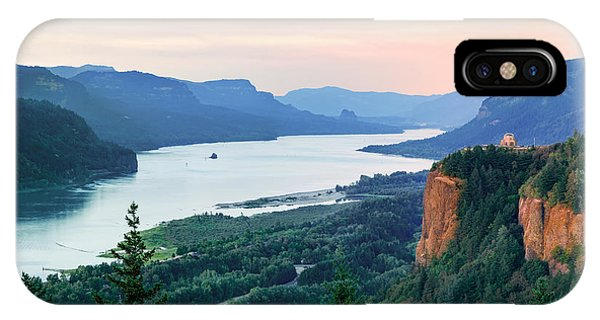 Columbia River With Vista House IPhone Case