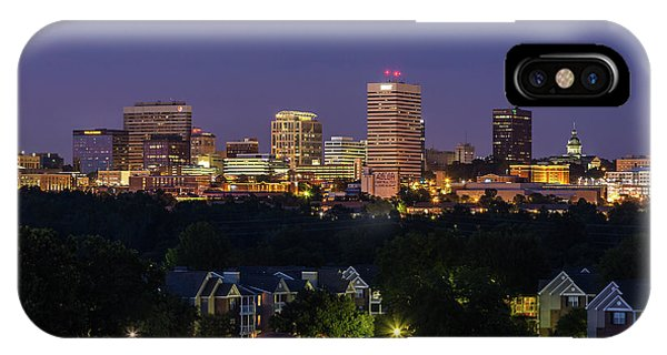 Columbia Skyline At Twilight IPhone Case