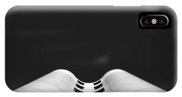 Angle iPhone X Case - Columbia St Marys Womens Hospital by Scott Norris