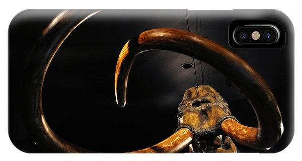 Columbian Mammoth La Brea Tar Pits IPhone Case