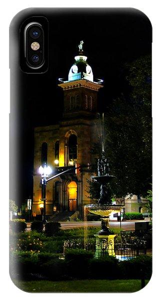Columbiana Cty Courthouse IPhone Case