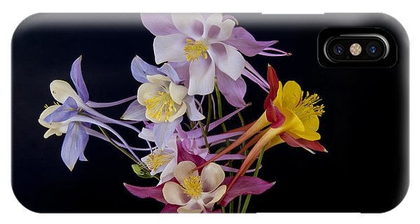 IPhone Case featuring the photograph Columbine Medley by Gary Lengyel