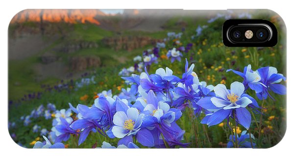 Columbine Sunrise IPhone Case