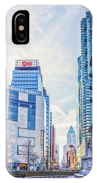 Columbus Circle IPhone Case