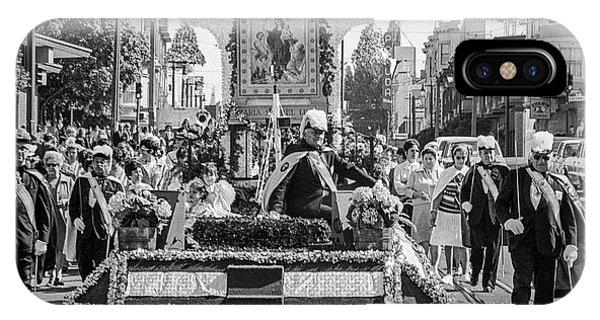 Columbus Day Parade San Francisco IPhone Case