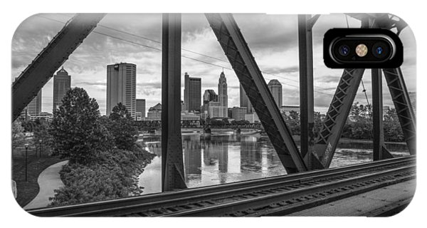 Columbus Train Tracks  IPhone Case