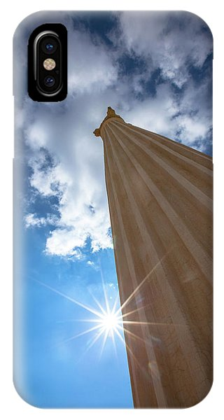 Column To Sky IPhone Case