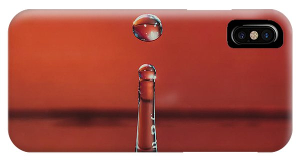 Column With Droplet IPhone Case