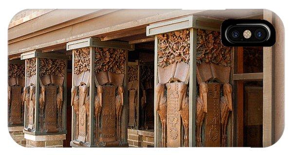 Columns At Frank Lloyd Wright Studio IPhone Case