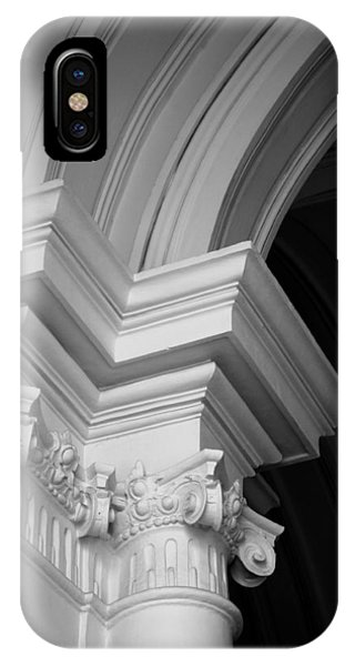 Columns At Hermitage IPhone Case
