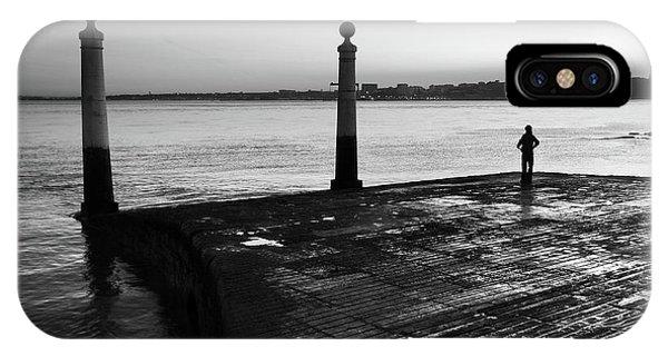 Navigation iPhone Case - Columns Dock by Carlos Caetano