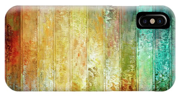 IPhone Case featuring the mixed media Come A Little Closer - Abstract Art by Jaison Cianelli