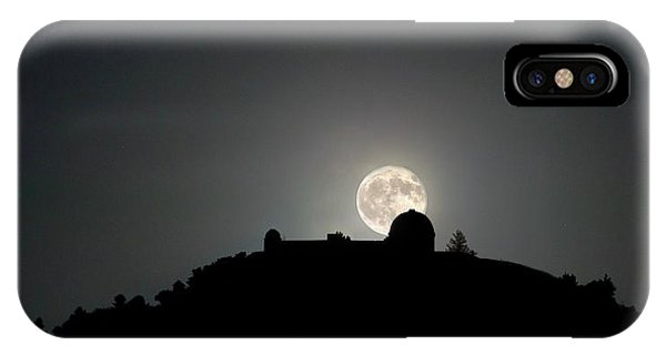 Come On You Stranger, And Shine In On Lick Observatory IPhone Case