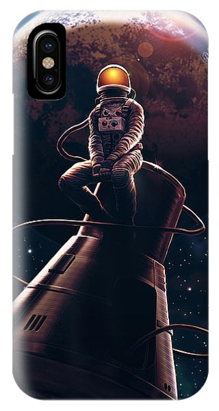 Nasa iPhone Case - Come Pick Me Up by Canvas Cultures