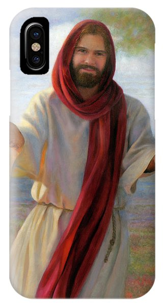 IPhone Case featuring the painting Come Unto Me by Nancy Lee Moran