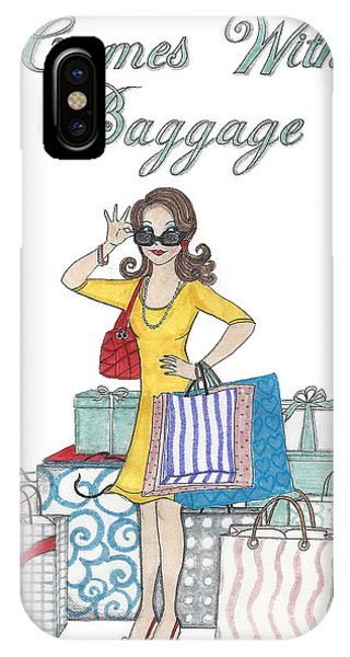 Comes With Baggage IPhone Case