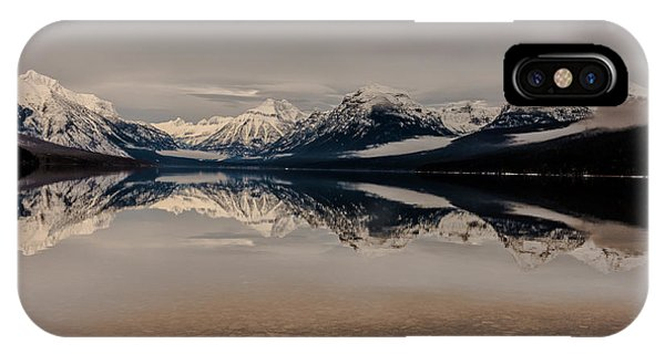 Lake Mcdonald Glacier National Park IPhone Case