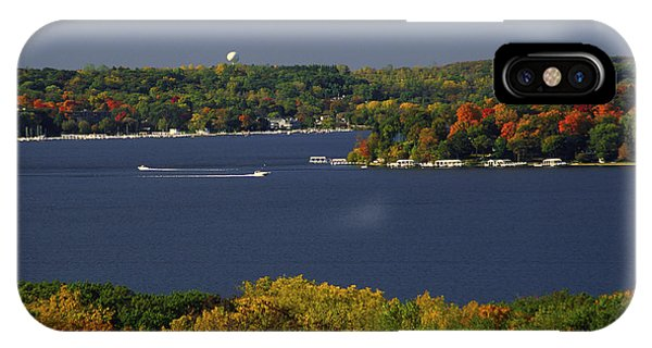 Coming And Going - Lake Geneva Wisconsin IPhone Case