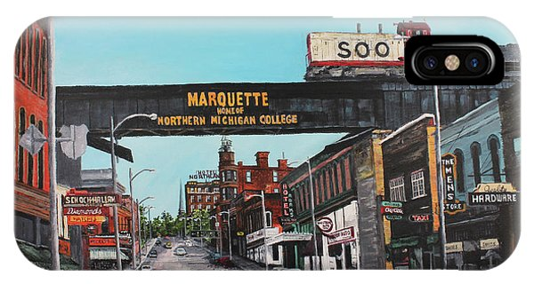 Marquette iPhone Case - Coming Home by Tim Lindquist