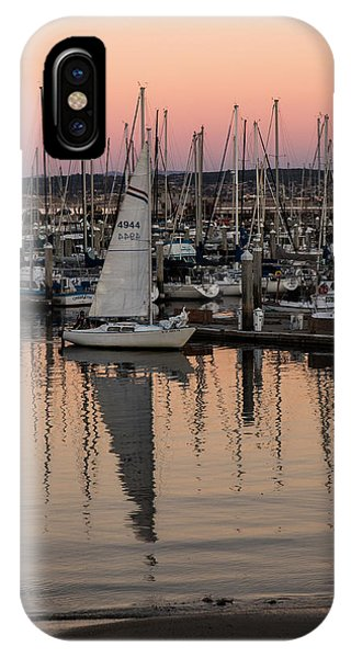 Coming Into The Harbor IPhone Case